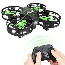 Mini Drone Crash Proof RC Small Quadcopter One Key Take Off Landing 3D Fast R C $31.98