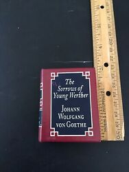 The Sorrows Of Young Werther Miniature Book
