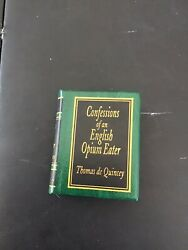 Confessions Of An English Opium Eater Miniature Book