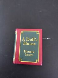 A Doll's House Miniature Book