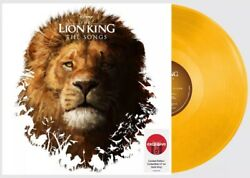 GOLD VINYL Exclusive THE LION KING Songs Target 2019 Live Disney Remake LP Album