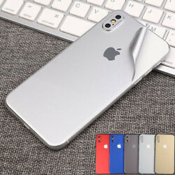 Fr iPhone XR XS Max 8 Plus Protective Film Wrap Decal Skin Case Sticker PVC Back