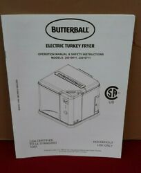 Butterball Indoor Digital Electric Turkey Fryer by Masterbuilt New   ✞