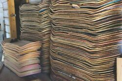 Lot Of 6 Used Skateboard Decks For DIY Art Project FREE SHIPPING wood Recycle