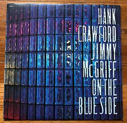 Hank Crawford  Jimmy McGriff On the Blue Side RARE out of print vinyl LP record