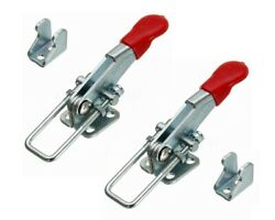 2pcs Toggle Latch Catches Adjustable Spring Lock Clamp For Loaded Box Case A701 $7.50