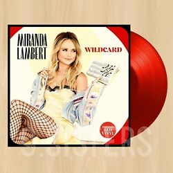 RED VINYL---- MIRANDA LAMBERT Wildcard EXCLUSIVE 2LP Tequila Does BLUEBIRD 1104
