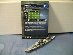 Axis amp; Allies War at Sea Flank Speed HMNZS Leander 4 40 $3.00
