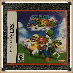 Super Mario 64 DS (Nintendo DS 2004) Complete *Factory Sealed* Authentic
