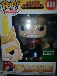 Funko Pop! Animation MHA Metallic All Might Barnes & Noble excl. In Hand!