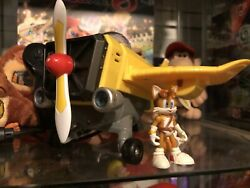Sonic Boom Tails Plane Vehicle Sonic the Hedgehog Action Figure Toy Tails' Rare
