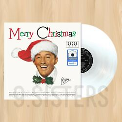 WHITE VINYL---- BING CROSBY Merry Christmas EXCLUSIVE LP White Christmas   1107