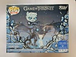 Funko Pop Game Of Thrones Icy Viserion Pop & Tee Box Lunch Excl. XL - Sealed