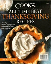 2019 COOK'S ILLUSTRATED ALL TIME THANKSGIVING RECIPES America's test kitchen