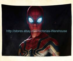 wall beach towel Avengers Infinity War Spiderman tapestry cloth poster $17.69