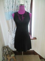 Stunning All Saints Ula Dress Black Size S (8) BNWOT $50.03