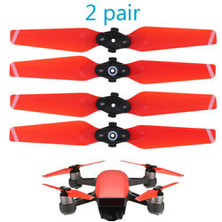 4pcs Red Quiet flight Foldable Propeller Storage Box For DJI SPARK Drone 4730F $9.93