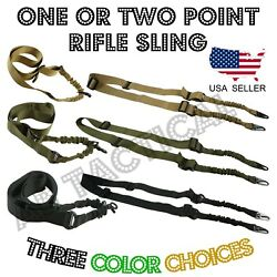 Single One Point Tactical Rifle Gun Sling w/ Quick Release Buckle $34.99
