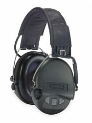 Msa Over-the-Head Electronic Ear Muffs  19dB Noise Reduction Rating NRR