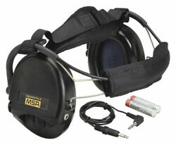 Msa Behind-the-Head Electronic Ear Muffs  18dB Noise Reduction Rating NRR