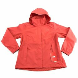 The North Face Women#x27;s Resolve 2 Spiced Coral Waterproof DryVent Hooded Jacket $59.97