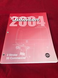 2004 Johnson 2 Stroke 55 Commercial Service Manual 5005646