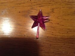 Purple Large Classic Star For Ceramic Christmas Trees $1.99