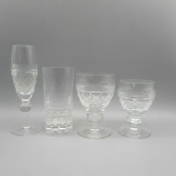 Home James Crystal OXFORD 4pc Place Setting $39.99