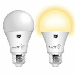 Sensor Lights Bulb Dusk to Dawn LED Light Bulbs Smart LightingWarm White 2Pack $11.99