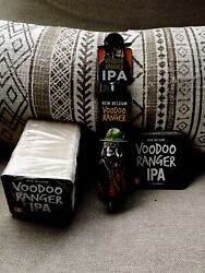 BELGIUM VOODOO RANGER TAP HANDLE & Coasters New  IPA REAL NICE  SHARP