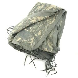 US Military All Weather Poncho Liner ACU Camo Woobie Blanket Army Camping $29.99
