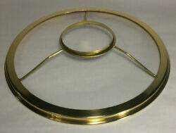 New 10quot; Fitter Solid Brass Shade Ring Holder For No. 3 Queen Burners #SR732 $54.66