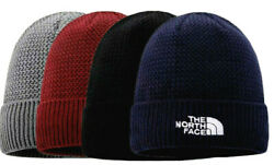 NWT MEN'S THE NORTH FACE KNIT HYVENT LINED BEANIE HAT BRICK RED GRAY BLACK BLUE $30.00