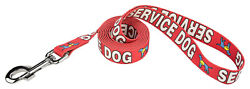 Country Brook Design® Red Service Dog Leash $10.95