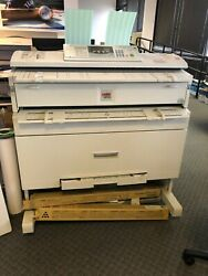 Ricoh Aficio 240W Wide Format Printer Plotter Scanner  $800.00