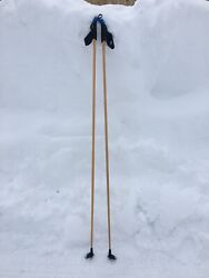 Cross Country ski poles Extremely Light Rare 150cm 160cm Freedom Gold $130.00