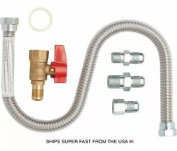 MR. HEATER UNIVERSAL GAS CONNECTION KIT MODEL# F271239 -NO PACKAGE $24.99