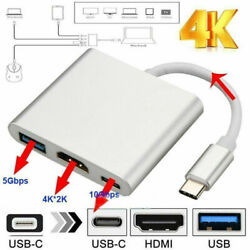 NEW USB Type C to HDMI HDTV TV Cable Adapter Converter For Macbook Android Phone $8.16