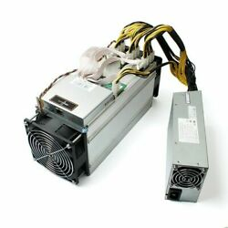 Bitmain Antminer S9 13.5T Brain OS installed 9.6 17.2TH s w APW3 PSU $154.95