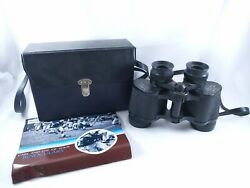Vintage Sears 7x35 Wide Angle Binoculars Model 445.25110 with Carrying Case $126.74