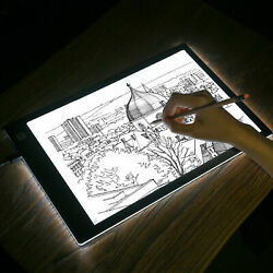 LED Tracing light Box Touch Board Artist  Drawing Drafting Graphics Tablet A4