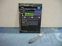 Axis & Allies War at Sea Surface Action LST 12/40 $11.00