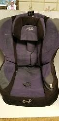 Evenflo Triumph 3801946 Booster Car Seat Fabric Cover Cushion Replacement Purple $10.00