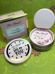 Too Faced Dew You Fresh Glow Translucent Setting Powder Radiant (Nude)NEW IN BOX $18.95