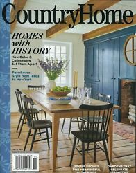 COUNTRY HOME MAGAZINE 2020 SPRING cottage journal southern living sampler FALL0 $4.49