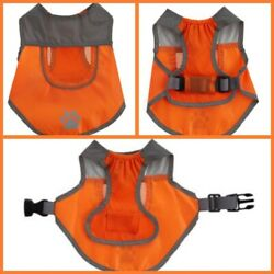🐶TOP PAW Outdoor Small HIGH VISIBILITY Orange DOG VEST Brand New 🐶 $12.99