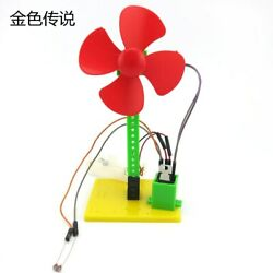 JMT DIY Light Controlled Small Fan NO.1 Popular Science Toy Technology Teaching $6.99