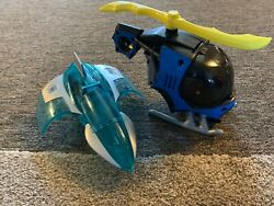 Imaginext Fisher Price Batman Helicopter Mr. Freeze Jet Plane Complete $65.00