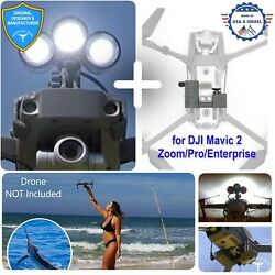 PROFESSIONAL Release Device and Searchlight for Drone Fishing for DJI Mavic 2 $338.00