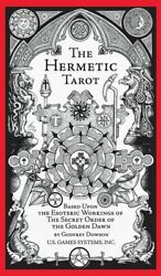 The Hermetic Tarot By Godfrey Dowson 78 Cards Deck 70 Page Instruction Booklet $18.50